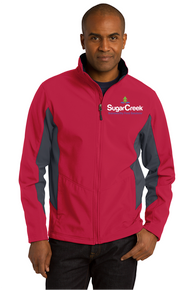 Adult Core Colorblock Soft Shell Jacket