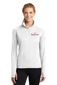 Ladies Sport-Wick Stretch 1/2 Zip Pullover