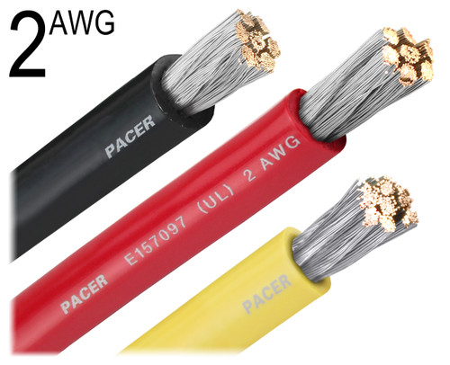 2 Gauge Battery Cable : Gauge battery cable
