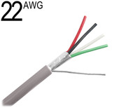 22 AWG Shielded Multi Conductor, 4 Conductor
