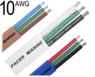 Triplex Cable, 10 AWG, W10/3