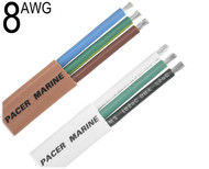 Triplex Cable, 8 AWG, W8/3