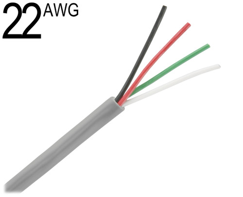 Cable Coax Multi Conductor : Multiconductor cable unshielded awg