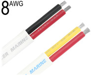 Duplex Cable, 8 AWG, W8/2