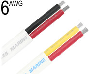 Duplex Cable, 6 AWG, W6/2