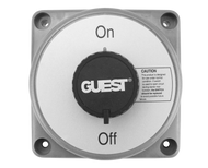 Guest Battery Switch, Heavy-Duty ON-OFF with AFD