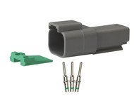 Deutsch Connector, DT Receptacle Repair Pack TDT04-2RP