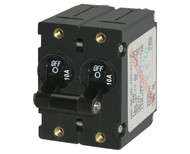 Magnetic Circuit Breakers, A Series, Double Pole, Double Throw