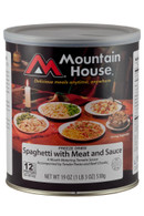 Mountain House Spaghetti W/Meat Sauce-Freeze Dried Emergency Survival Food (0030108)