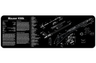 """TekMat Mauser K98k-12"""" X 36"""" Rifle/Gun Cleaning Mat (36MAUSER)"""