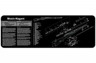 "TekMat Mosin Nagant-12"" X 36"" Rifle/Gun Cleaning Mat (36MOSIN)"