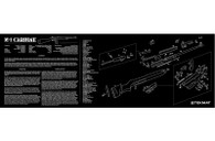 "TekMat M1-Carbine-12"" X 36"" Rifle/Gun Cleaning Mat (36M1CARB)"
