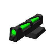 HIVIZ Sights 1911 Novak Style Front Sight With Interchangeable LitePipes NVLW01