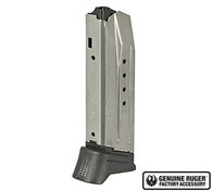 Ruger American Compact Magazine 10 Round 9mm Mag-2 Floorplates (90617)