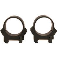Leupold PRW 30mm Low Height Scope Rings-Matte Black-Steel (170512)