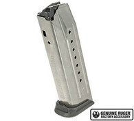 Ruger American Factory Magazine 17 Round 9mm Mag Nickel (90510)