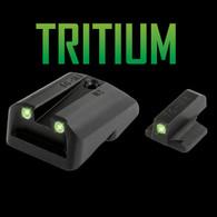 TruGlo 1911 Novak LoMount .260 Front/.500 Rear Tritium Night Sights (TG231N3)