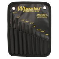 Wheeler 9 Piece Roll Pin Punch Set (204513)
