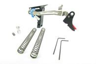 ZEV Glock 17/19/26/34 Adjustable Fulcrum Trigger Kit (FUL-DRP-9-B-R)