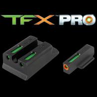 TruGlo TFX PRO Ruger SR9/SR40/SR45 Tritium Fiber Optic Sight Set (TG13RS1PC)