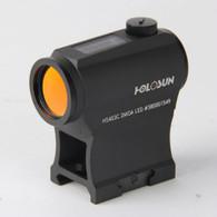 Holosun Red Dot Sight 2 MOA Dot Solar/Battery Powered (HS403C)