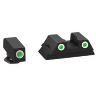 Ameriglo Glock 42/43 Classic 3 Dot Tritium Night Sights W/White Outline (GL-430)