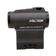 Holosun Micro Red Dot Sight-2 MOA Dot/65 MOA Circle-Battery Powered (HS503GU)
