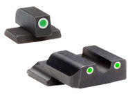 Ameriglo S&W M&P Shield Tritium Sight Set With White Outline Rings  (SW-145)