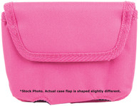 "Bulldog Cases Horizontal Ambi ""Cell Phone"" Holster For Small .380 Pistols-Pink Nylon (BD844)"