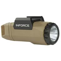 InForce APL Gen3 Pistol Light 400 Lumens LED White Light-FDE (A-06-1)