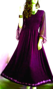 SALE New LYLA Purple Long Party Dress 12 14 16 18 20