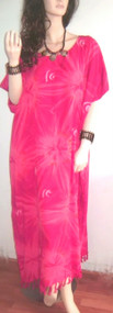 SALE New STAR  Pink & Red Cool Kaftan Long Summer Dress