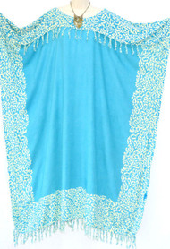NIA Buttersoft Kaftan Plus Dress Leopard in Pink Blue Green Black - Freesize