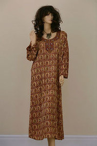 Indian Sequinned Bling Bling Mirror Party Long Kaftan Dress