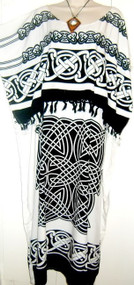 CELTIC Cool Soft Long Kaftan Dress - Freesize
