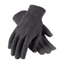 Economy Brown Jersey Glove