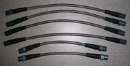 BMW 1602 2002 SS Brake Hose Set