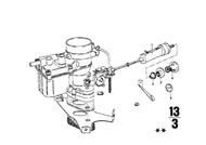 BMW 2002 Carburetor Cable Rubber Grommet