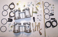 BMW 2002 320i INstallation kit for Weber 40 Sidedraft Carburetor