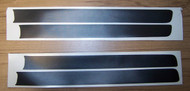 BMW 320i Front Valence Spoiler Black Stripes 1979-1983