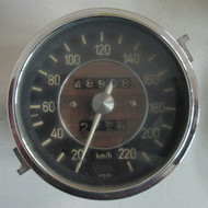 BMW 2000cs Speedometer