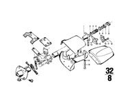 BMW Screw for Steering Column Trim