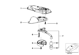 Bmw Z4 Engine Diagram as well Bmw Recessed Sunroof Handle Cover as well Bmw E30 E36 318i 318is 318ti Z3 91 98 Engine Valve Cover Gasket Elring 135 391 together with Bmw Engine Valve Cover Gasket 318i 318is 318ti Z3 E36 E30 furthermore Bmw E36 E39 Set Valve Cover Gasket Set And 15 Seals Elring Klinger. on bmw z3 engine cover