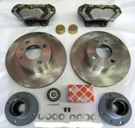 BMW 2002 Vented-Rotor Front Big Brake Kit