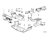 BMW E24 6-series Engine Room Sound Insulation