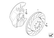 BMW Z4 Brake Caliper Repair Kit; Guide Bushing Repair Kit
