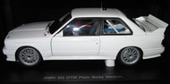 E30 BMW M3 DTM PLAIN BODY VERSION 1:18 MODEL
