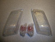 BMW Clear Euro Turn Signal Indicator Lenses E9 2800cs 3.0cs