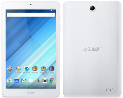 "Acer 8"" MediaTek Cortex A53 1.30 GHz 1 GB Ram 16 GB Flash Android 
