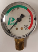 Poolrite Sand Filter Pressure Gauge